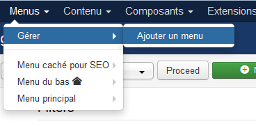 joomla 3 titre pages tags menu cache