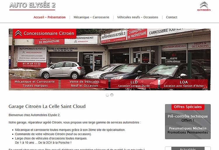 Automobiles elys e for Garage citroen martigues