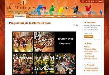 Festival de Martigues - Edition 2009